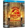 Jurassic Park - Trilogia - Box Com 3 Blu-rays - Novo