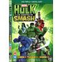 Box Dvd Hulk E Os Agentes Da Smash
