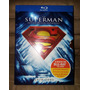 Blu-ray Superman Anthology (coleção 8 Discos) (metalizada)