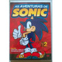 Dvd As Aventuras De Sonic Vol. 2 - Novo E Lacrado