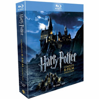 Dvd - Box Completo, Harry Potter, Blu-ray, Á Pronta Entrega