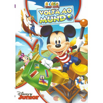 Dvd Volta Ao Mundo A Casa Do Mickey Mouse Disney Júnior