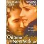Dvd Outono Em Nova York (semi Novo)