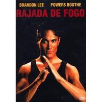 Dvd Rajada De Fogo - Brandon Lee - Original E Lacrado