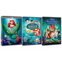 Coleção Dvd Disney A Pequena Sereia (3 Filmes Lacrados)