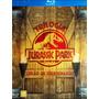Trilogia Jurassic Park - Blu-ray - Digipack - Lacrado