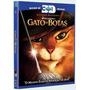 Gato De Botas - Blu Ray Duplo, 3d+2d, C/luva, Dub/leg, Lacra