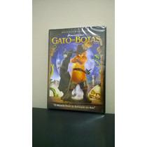 Dvd Gato De Botas - Original - Lacrado - Dublado