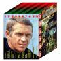 Coleção Luxuosa Do Ator Steve Mcqueen Em 10 Dvds Fantásticos