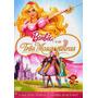 Dvd Barbie E As Três Mosqueteiras - Original Novo Lacrado