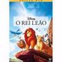 O Rei Leão Dvd Lacrado Disney