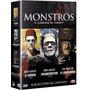 Monstros - Clássicos Do Terror - Box Com 3 Dvds - Novo