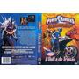 Dvd Lacrado Power Rangers Tempestade Ninja A Volta Do Trovao