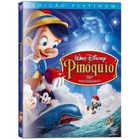 Pinóquio Dvd Duplo Edição Platinum Lacrado Original