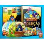 Dvd Coleção Galinha Pintadinha Completa 1,2,4 E 4 Lindo Box!