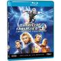 Blu-ray Quarteto Fantastico E O Surfista Prateado - Original