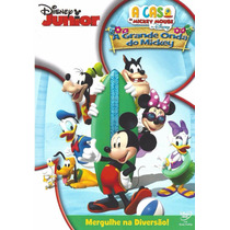 Dvd A Grande Onda Do Mickey A Casa Do Mickey Mouse Original