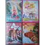 Baixou O Preço, 4 Dvds Da Barbie Originais R$ 8,50 Cada