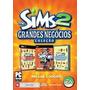 Jogo The Sims 2 Grandes Negocios Pc Novo Lacrado ,dri Vendas