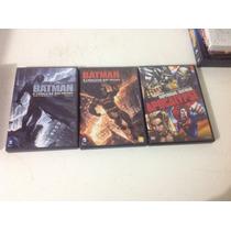 Dvds Batman O Cavaleiro Das Trevas Parte 1 E 2 + Brinde