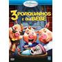 Dvd 3 Porquinhos E Um Bebê