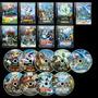 Pokemon 1ª A 19ª Temporada + Filmes + Especiais Dvd