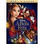 A Bela E A Fera Dvd Duplo Lacrado De Fabrica Disney