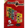 Dvds Kit Educação Sexual - 5 Dvds + 1 Livro - Sbj - Novo