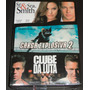 Box 3 Dvds: Clube Da Luta+ Carga Explosiva 2+ Sr E Sra Smith