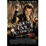 Filme Resident Evil 4: Recomeço - Dvd Original