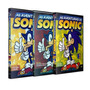 Coleção Sonic 3 Dvds Novos E Lacrados!