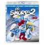 Blu Ray 3d + 2d + Dvd Os Smurfs 2 - Novo - Lacrado - 3d