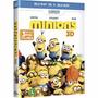 Blu-ray + Blu-ray 3d: - Minions (universal Filmes) Com Luva