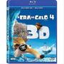 Blu Ray 3d A Era Do Gelo 4 Novo Original Lacrado