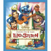 Blu-ray Lilo & Stitch Coleção Com 2 Filmes 1 Disco Original
