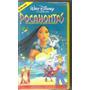 Vhs Pocahontas, O Encontro De Dois Mundos - Disney - Dublado