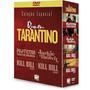 Box Dvd Coleção Quentin Tarantino 4 Discos Original Lacrado