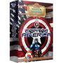 Capitão América Dvd Box 2 Discos Original Novo Lacrado