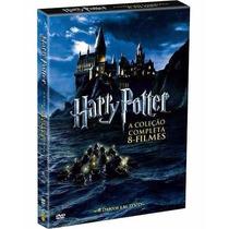 Box Dvd Harry Potter Saga Completa 8 Dvd