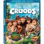 Box Blu Ray 2d 3d Dvd Croods Raridade Luva Lacrado 3 Discos