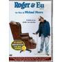 Dvd Roger & Eu Michael Moore - Raro