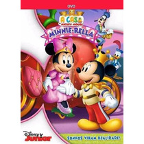 A Casa Do Mickey Mouse Dvd Original Minnie-rella