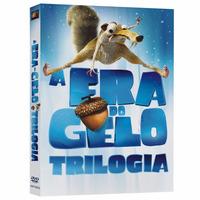 Box A Era Do Gelo - A Trilogia. 3 Discos. Novo!