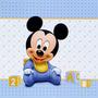 Arte Por Email - Turma Do Mickey - Convites/lembrancinha