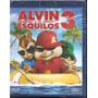 Blu-ray - Alvin E Os Esquilos 3 - Novo, Lacrado