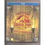 Blu-ray Trilogia Jurassic Park Digipak 3 Discos Lacrado