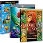 Coleção Disney - Pacote Com 7 Filmes Clássicos Da Disney!
