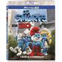 Blu-ray 2d/3d Original Os Smurfs