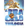 A Era Do Gelo - Trilogia - Box Com 4 Dvds - Novo