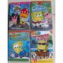 Coletânea Com 4dvds Bob Esponja Originais